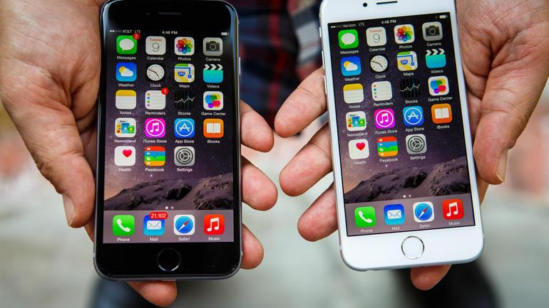 iPhone 6 и iPhone 5S сравнение