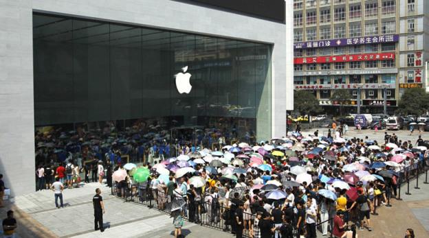 Apple забрал титул «самого влиятельного бренда мобильных технологий в Китае» у Samsung