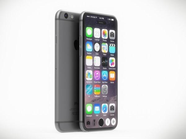 Появился концепт iPhone 7 с огромным экраном