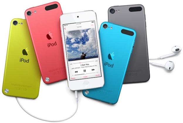 Новый iPod Touch должен будет появиться вместе с умными часами