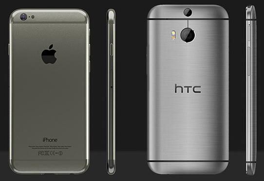 Apple выиграла у HTC на тайваньском рынке смартфонов