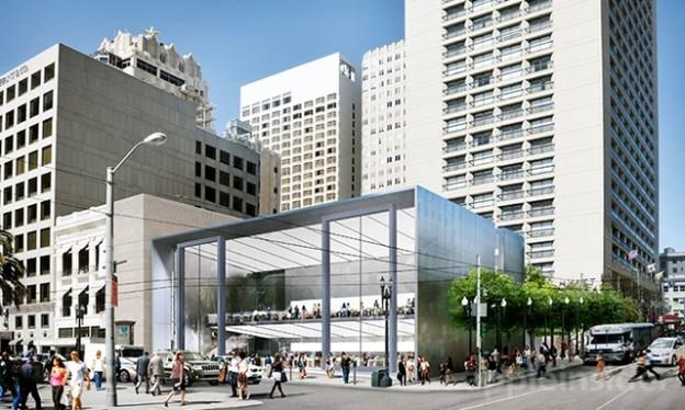 Корпорация Apple запатентовала свой будущий магазин