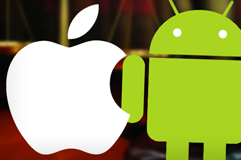 Apple-and-Android-logo