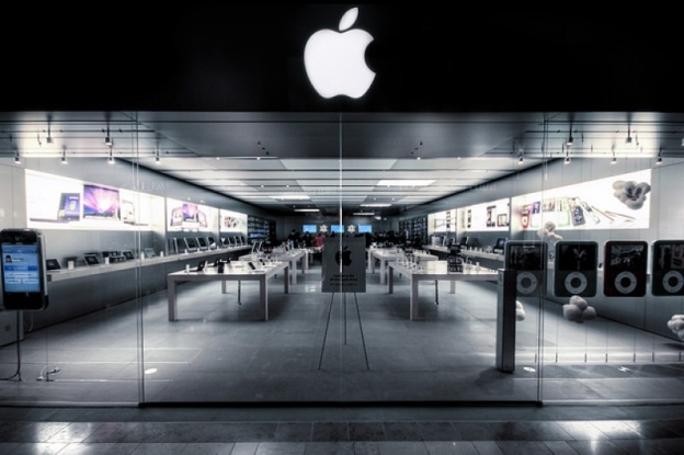 Apple откроет первый официальный магазин в Бельгии