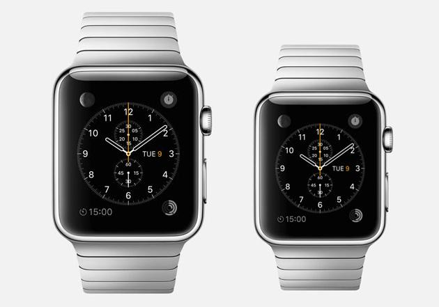 Apple Watch разного размера