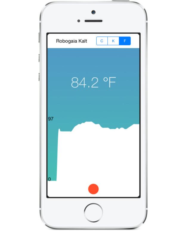 Устройство Kalt для iPhone позволит мгновенно измерить температуру воздуха
