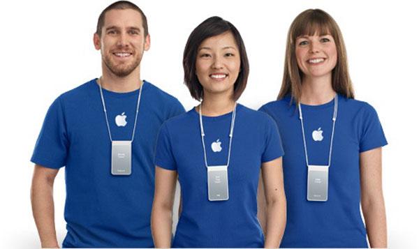 Сотрудники Apple Store получат обновленную форму