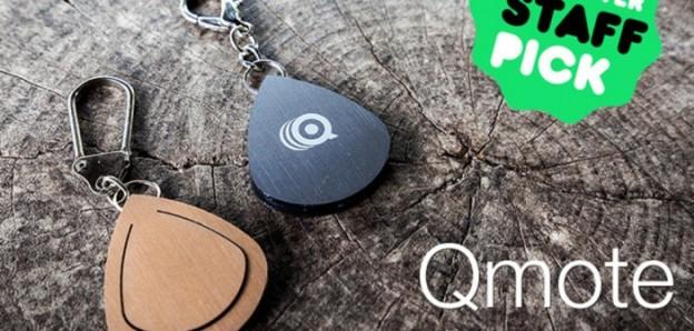 Брелок Qmote может управлять различными мобильными устройствами