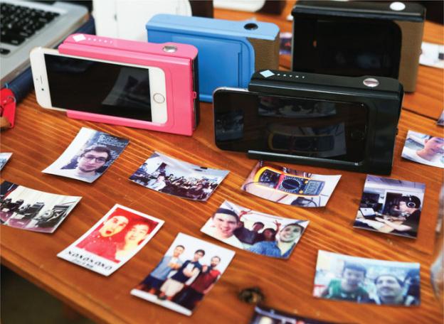 Новый чехол для iPhone позволит моментально печатать фото
