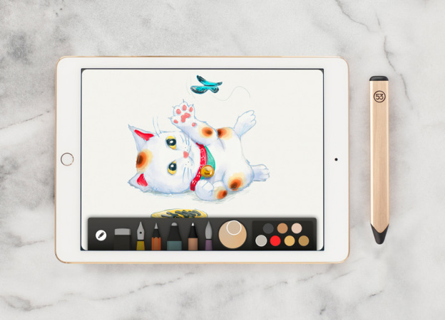 FiftyThree презентовала золотой вариант Pencil для планшетов Apple