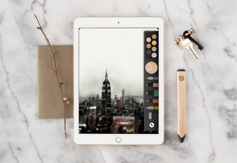Pencil Gold от FiftyThree