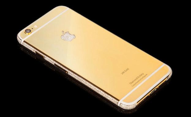 Создали iPhone 6, покрытый бриллиантами