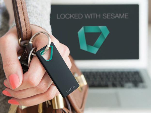 Брелок Sesame 2 сможет автоматически заблокировать Mac