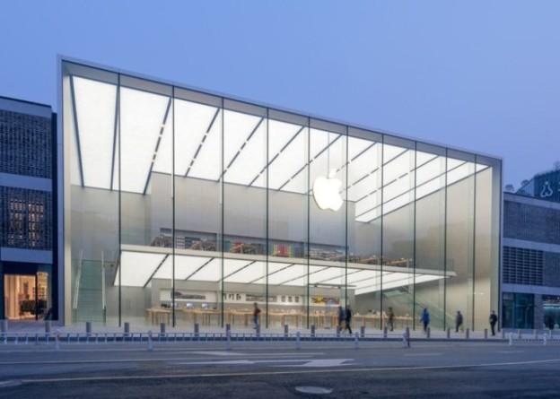 Apple показала фотографии очередного китайского Apple Store