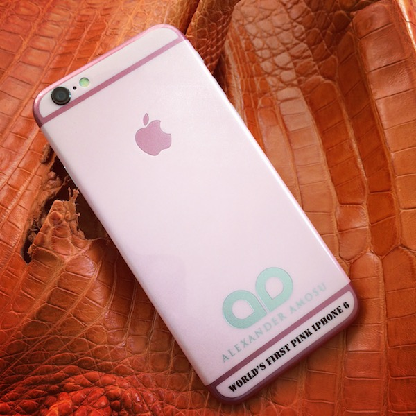 Британцы создали уникальный розовый iPhone 6