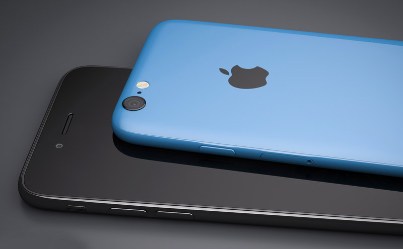 Концепт iPhone 6c