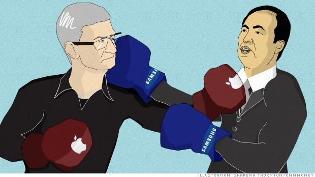 Компания Apple начала переманивать сотрудников Samsung