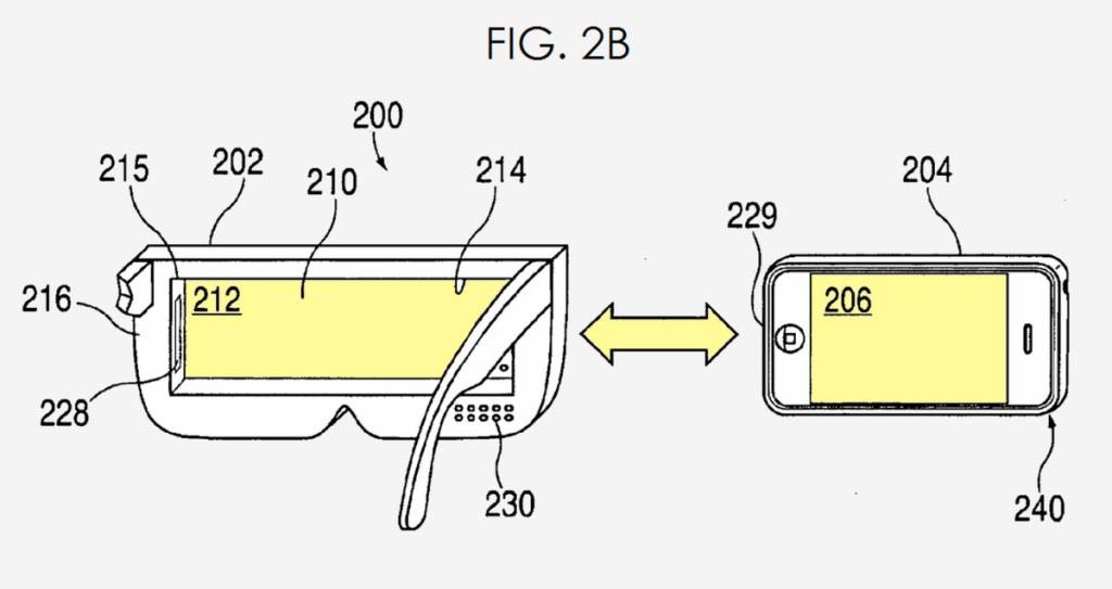 Патент Apple на очки виртуальной реальности