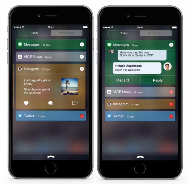 Шведские дизайнеры разработали новый концепт Центра уведомлений для iOS