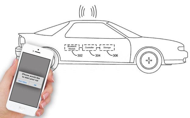 iPhone сможет заводит мотор автомобиля