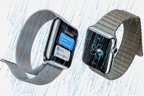 Apple Watch получили защиту от недолгого погружения в воду и брызг