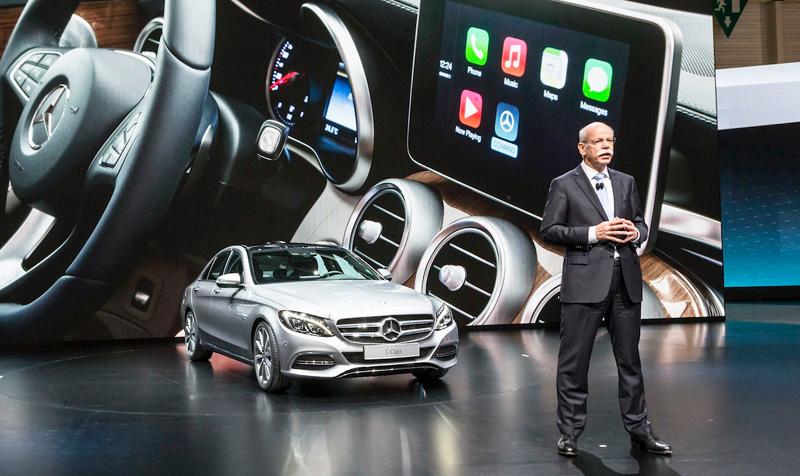 CarPlay в Mercedes