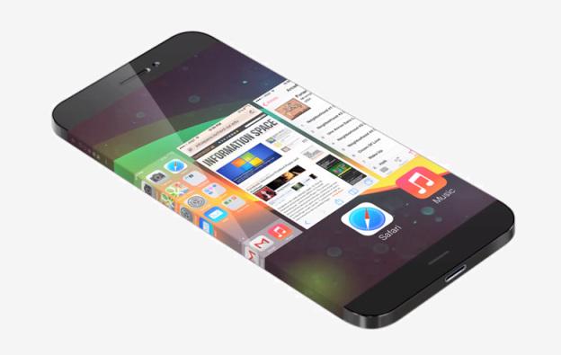 Apple может выпустить собственный смартфон с буковым дисплеем