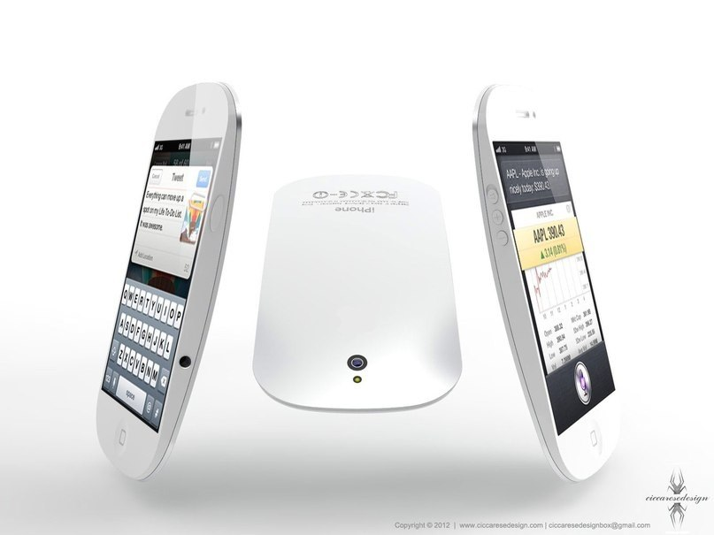 iPhone ввиде Magic Mouse