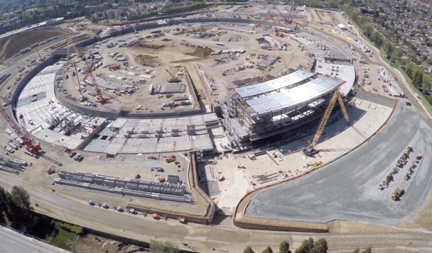 Apple Campus 2 строительство