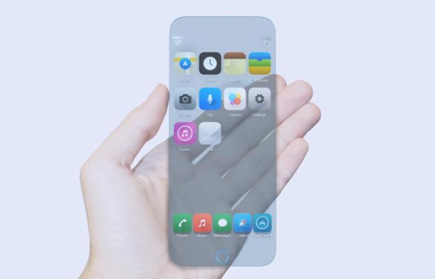 Появился концепт стеклянного iPhone