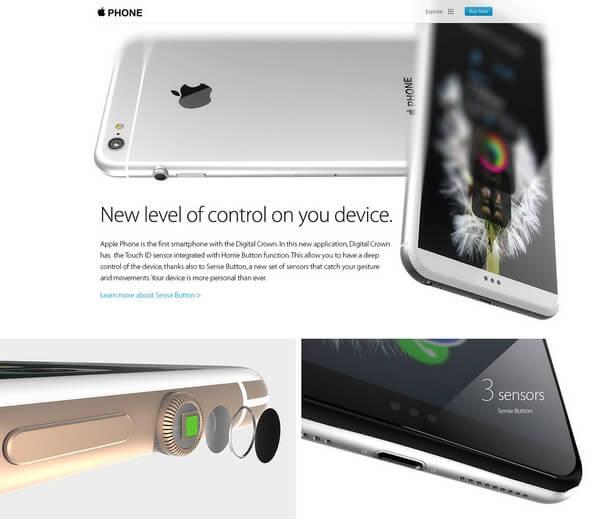 iPhone7 концепт