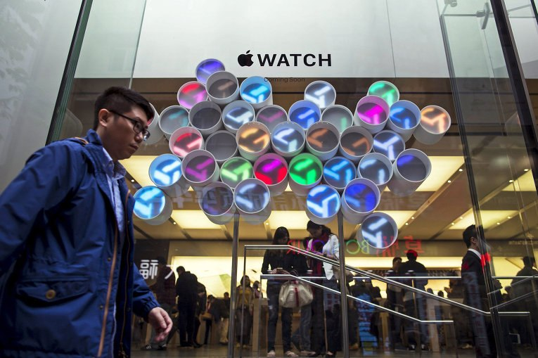 Apple Watch. Примерка