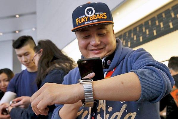 Apple Watch. Примерка