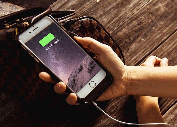 iPhone зарядка