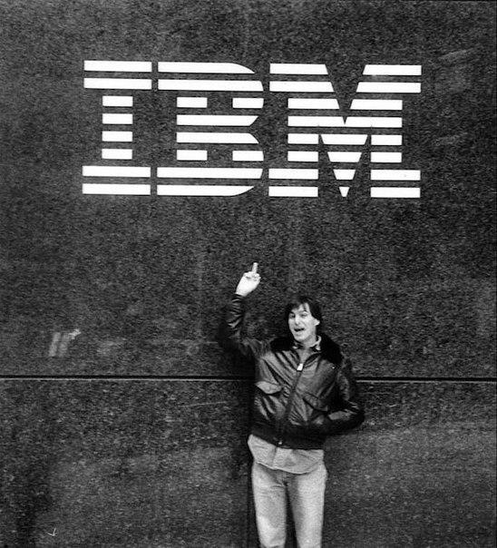 IBM Steve Jobs