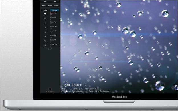 Погода на Mac