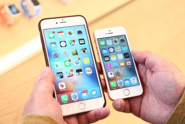 iPhone 6S Plus против iPhone SE