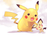 Pikachu-and-Pichu-iphone-wallpaper