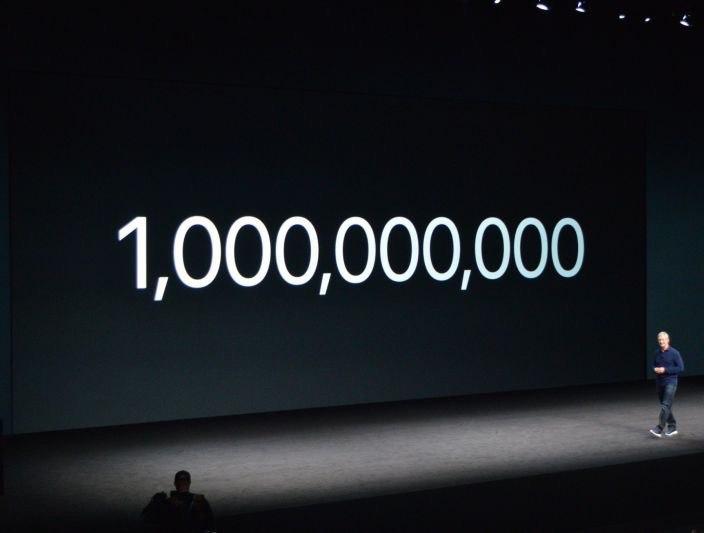 1 миллиард iPhone