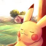 Pikachu-sleeping-iPhone-6-Wallpaper