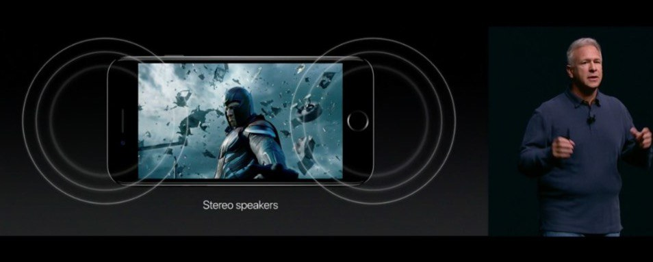 iPhone 7 Stereo Sound