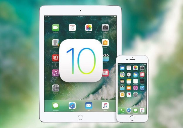iPad, iPhone. iOS 10